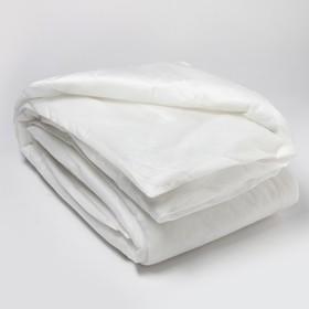 Одеяло Спанбонд 140х205 см, белый, синтепон 100г/м2, ткань спанбонд 40г/м2
