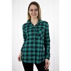 Рубашка женская «Стиль», цвет зелёный, размер 48