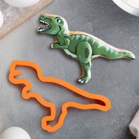 Форма «Динозавр Тирекс №1», 11 см, цвет МИКС