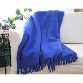 Плед «Синий», размер 170 × 210 см, 9В-38