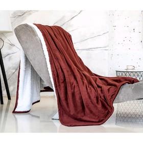 Плед-покрывало «Шоколадный», размер 200 × 220 см, АВ-22