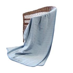 Плед-покрывало «Анкара голубая», размер 200 × 230 см, АТ-23