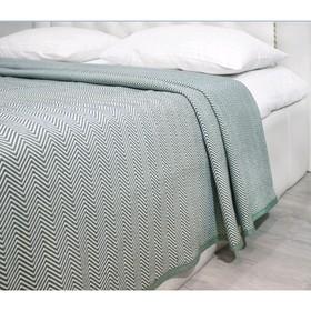 Плед-покрывало «Анкара мятная», размер 200 × 230 см, АТ-23