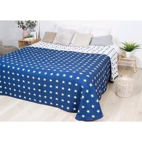 Покрывало «Тоскана синяя», размер 250 × 270 см, КБ-25
