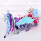Carriage for dolls, doll, accessories