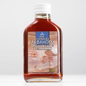 Сироп «Акванорм мочегонный» Сосновый мед, флакон 100 мл, БАД