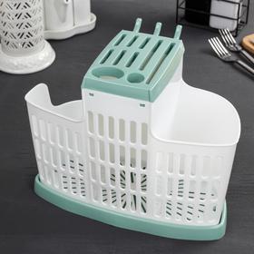 Органайзер для кухни IDEA, цвет фисташковый