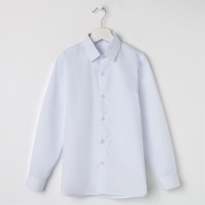 Сорочка для мальчика, цвет белый, рост 152-158 см - фото 105469855