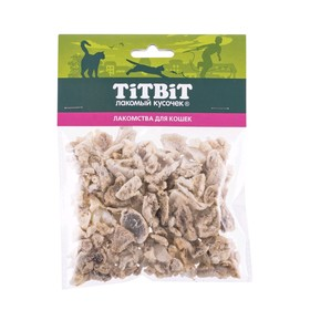 """Лакомство Titbit """"Легкое говяжье"""" для кошек, 8 г"""