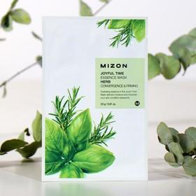 Тканевая маска для лица с комплексом травяных экстрактов MIZON Joyful Time Essence Mask Herb, 23 г