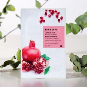 Тканевая маска для лица с экстрактом гранатового сока MIZON Joyful Time Essence Mask Pomegra, 23 г
