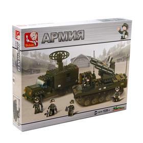 Конструктор Армия «Отряд ПВО» , 511 деталей