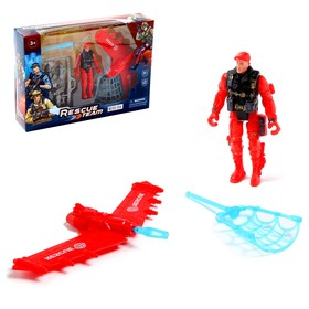 Набор пожарных «Летчик-спасатель»