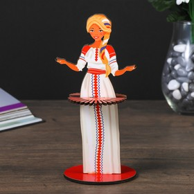 "Napkin holder ""Girl Russia"" (set 4 items)"