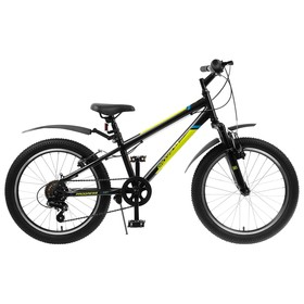 """Велосипед 20"""" Progress Indy, цвет черный, размер 10.5"""""""