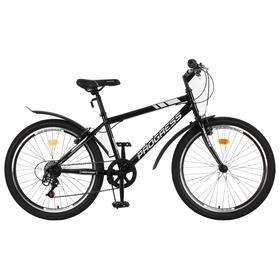 """Велосипед 24"""" Progress модель Highway RUS, цвет черный, размер 15"""""""