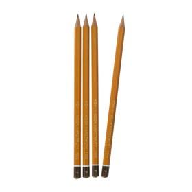 Набор 4шт карандаш ч/г K-I-N проф 1500 F, лакированный корпус (3098866)