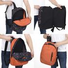 Рюкзак молодёжный, двусторонний, отдел на молнии, цвет серый - фото 655462