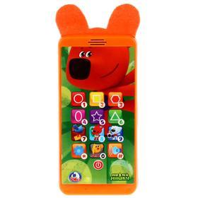 Телефон обучающий сенсорный «МиМиМишки» 12 песен, загадки, сказки