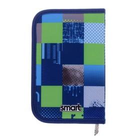 Пенал 1 секция откидные 2 планки, 130 х 205, ткань, Smart HP-04 Smart Style