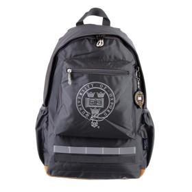 Рюкзак молодежный с эргономичной спинкой Yes OX 275, 46 х 29.5 х 13,5, серый