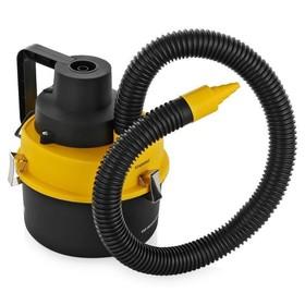 Пылесос автомобильный Starwind CV-120, черный/желтый, 93 Вт