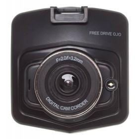 Видеорегистратор Digma FreeDrive OJO, 2.4', обзор 70°, 480x640 Ош