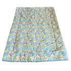 Одеяло облегченное 140х205 см, МИКС, синтепон, пэ 100%, 150г/м2