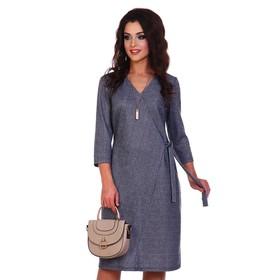 Платье женское «Иллария», цвет синий, размер 54