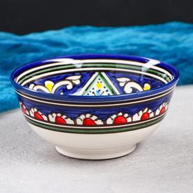 Коса фарфоровая Риштан, средняя 350мл Оригинал синяя МИКС