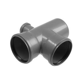 Крестовина канализационная FLEXTRON, 110х110х50 мм, внутренняя, 90°, одноплоскостная, правая