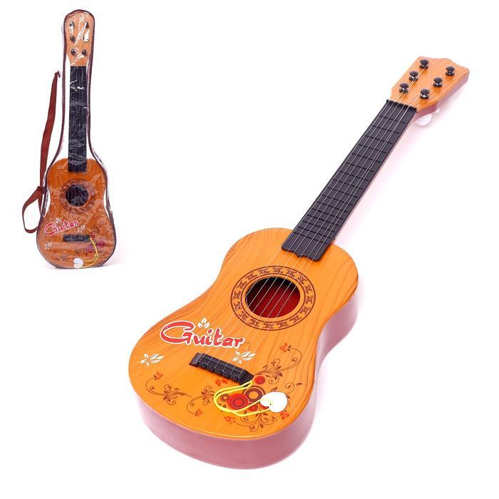 Игрушка музыкальная «Мелодичная гитара», 6 струн