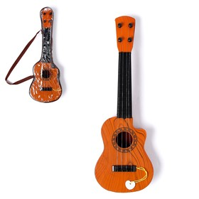 Игрушка музыкальная «Классическая гитара», 4 струны