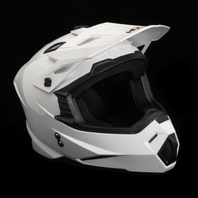Шлем HIZER J6801, размер L, белый