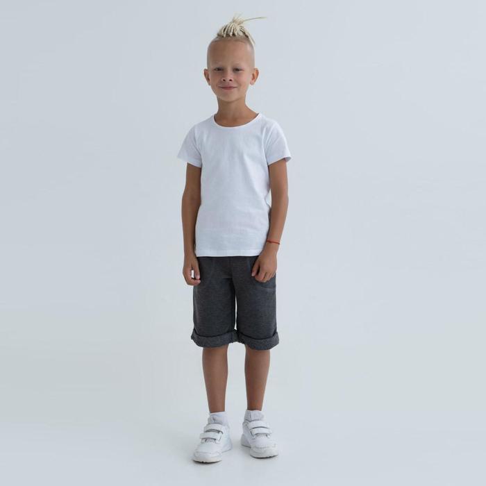 Шорты для мальчика MINAKU: #liberty цвет серый, рост 128 - фото 105482558