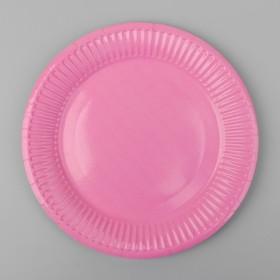 Plate, paper, monochrome, color pink