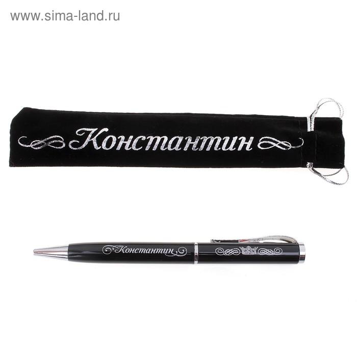 "Ручка ""Константин"", в бархатном мешочке"