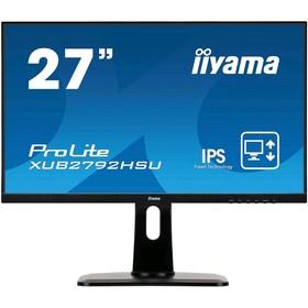"""Монитор Iiyama ProLite XUB2792HSU-B1 27"""", IPS, 1920x1080, 75Гц, 4мс,VGA,HDMI,DPort,чёрный"""