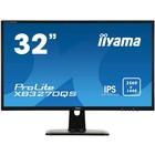 """Монитор Iiyama ProLite XB3270QS-B1 32"""", IPS, 2560x1440, 60Гц, 4мс, DVI,HDMI,DPort,чёрный"""
