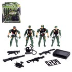 """A set of toy soldiers """"Military"""" MIX"""