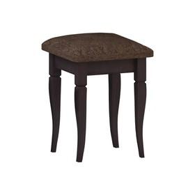 Табурет Танго-2 340х340х360 венге/мебельная рогожка бинго 20