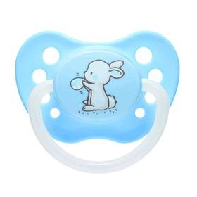 Пустышка силиконовая Canpol babies Little cuties, ортодонтическая, от 6-18 месяцев, цвет МИКС