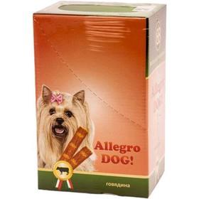 Колбаски B&B Allegro Dog для собак, говядина, 30 шт