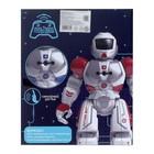 Робот радиоуправляемый «Смарт бот», ходит, световые и звуковые эффекты, русская озвучка, цвет красный - фото 105508409