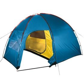 Палатка Arten Birdland, двухслойная, трёхместная, цвет синий