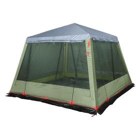 Палатка-шатер BTrace Grand, однослойная, четыре входа, цвет зеленый