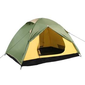 Палатка BTrace Malm 3, двухслойная, четырёхместная, цвет зеленый