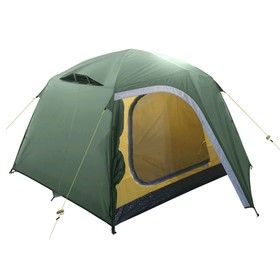 Палатка BTrace Point 2+, двухслойная, двухместная, цвет зеленый
