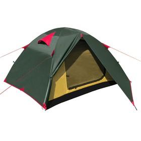 Палатка BTrace Vang 3, двухслойная, трёхместная, цвет зелёный