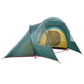 Палатка BTrace Double 4, двухслойная, четырёхместная, цвет зеленый